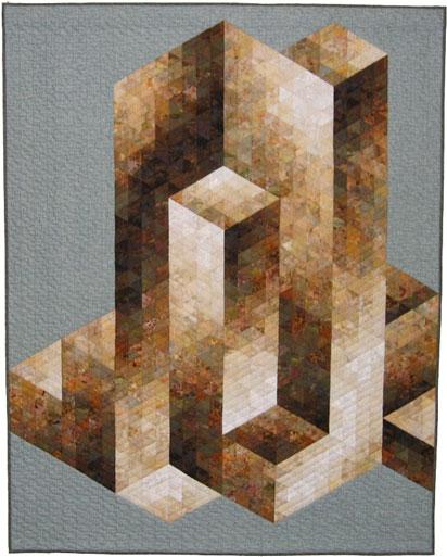 2. Nr.27 - Vasarely inspired - 163cmx201cm - Rita Cremers - 110p