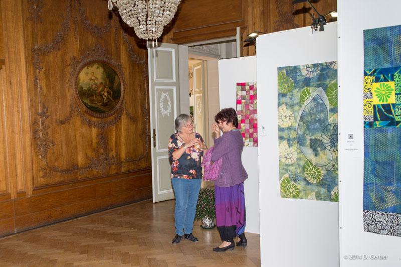 Impressie van de retrospectieve over Lutgard Gerber-Balliau