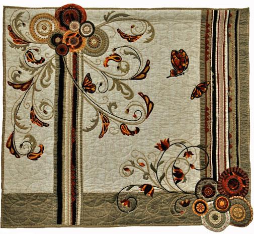 1. Nr. 26 - L'effet papillon - 120cmx120cm - Sylvie Hoffmann - Hainaut - p80