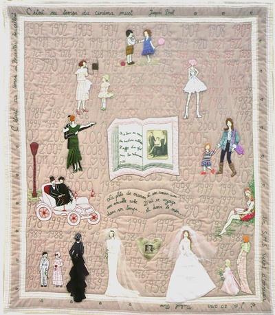 7. Nr. 40 - Pour toi maman - 117cm x 136cm - Colette Detaille-Bouchat - Namur - 59 p.