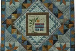 9. Nr. 3 - Orange Grove Crossing - 130cm x 130cm - Nicole Glorie - Antwerpen - 45 p.