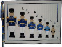 1. Nr.5 - Garde à vous - 175cmx150cm - Colette Detaille-Bouchat - 116p