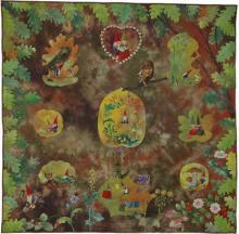 2. Nr.78 - Les gnomes - 137cm x 137cm - Clairette Fassin (140 p)