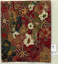 1    n°  51    89    Anne Marie Pesser,  Liège,  Racines Indiennes, 135 cm x 110 cm