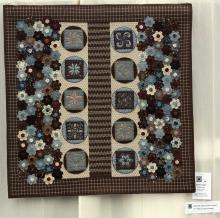 2    n°  34    88    Anne Massart, Hainaut, Granny's Hobby, 108 cm x 108 cm