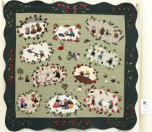 9    n°  63    80    Anne Peeters,  Namur, Au fil des saisons, 145 cm x 135 cm
