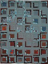 4. Nr. 106 - Comme un clair-obscur - 136cmx180cm - Anne-Marie Pesser - Liège - p74