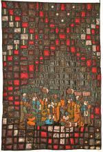 5 - nr ex aequo 5 - 63pt. Mosaique noire - Anne-Marie Pesser - Ligney
